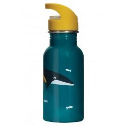 Borraccia  Splish Splash acciaio Whale
