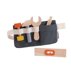 Cintura con attrezzi giocattolo in legno