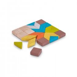 Mini mosaico in legno