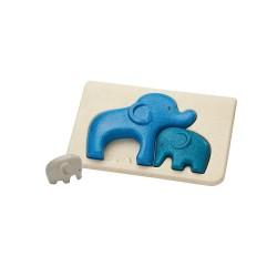 Il puzzle degli elefantini - primi puzzle