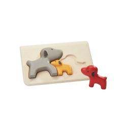 Il puzzle dei cagnolini - primi puzzle