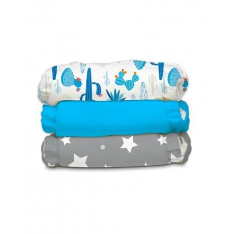 Kit da 3 pannolini lavabili pocket ibrido Charlie Banana - Under The Stars
