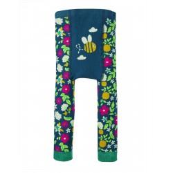 Leggings in maglina di cotone bio - Flower Bee  -Frugi