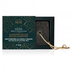 Shampoo Solido Antiforfora e Capelli Grassi N°02