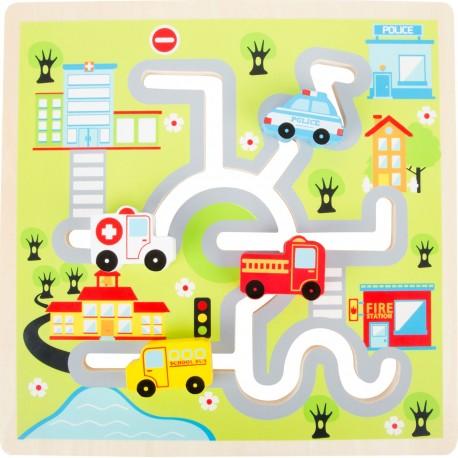 Puzzle da spingere Città