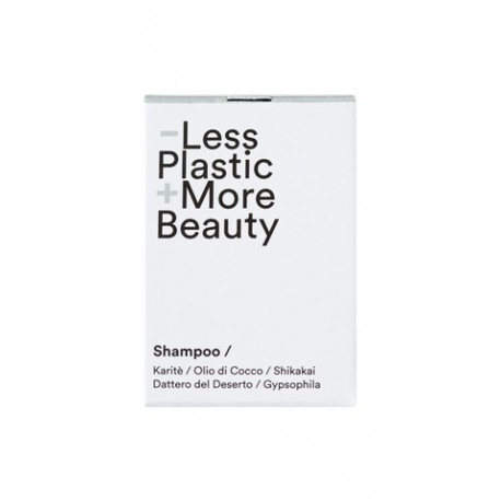 Shampoo solido uso quotidiano - Less Plastic + More Beauty