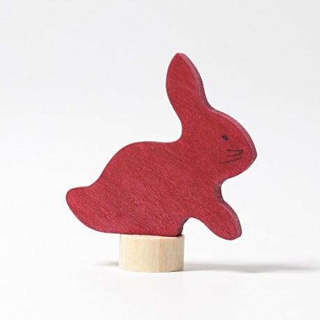 Personaggio in legno Grimm's - coniglietto