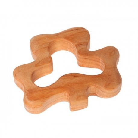 Trifoglio in legno da afferrare e mordicchiare