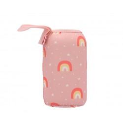Fodera neoprene per borraccia da 500 ml - Arcobaleno rosa