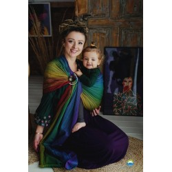 Fascia ad anelli ring sling Little frog Inky Agat