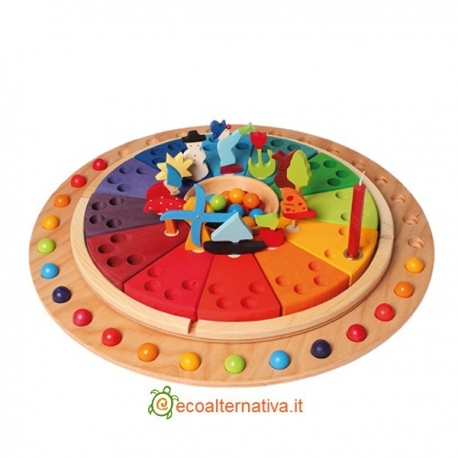 Il cerchio dell'anno - calendario di ispirazione montessoriana