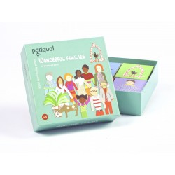 Wonderful families - gioco memory made in Italy