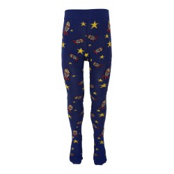 Calzamaglia unisex in cotone BIO con suola antiscivolo - fantasia Out of this world