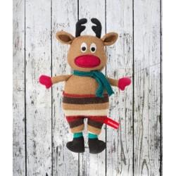 Pupazzo renna Rudolf