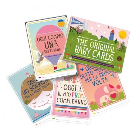 Milestone Baby cards - 1° anno di vita
