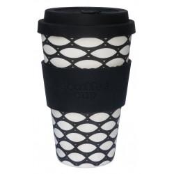 Ecofee cup Basketcase - silicone nero
