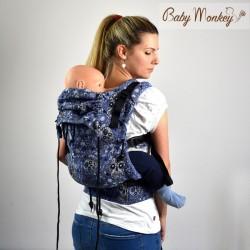 Marsupio ergonomico Regolo Babymonkey Calavera- spedizione gratuita