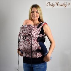 Marsupio ergonomico Regolo Babymonkey Heart- spedizione gratuita