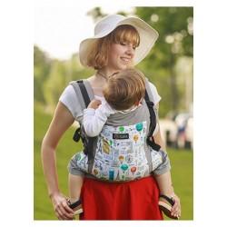 Marsupio ergonomico regolabile Isara V3 Chic in Paris toddler - spedizione gratuita