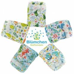 Pannolino lavabile Pocket - Blumchen