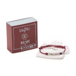 Bracciale Mami Tag - Super Mom