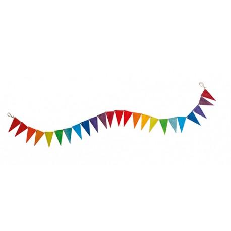Decorazione colori dell'arcobaleno Grimm's