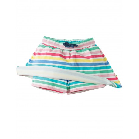 Gonna pantaloni - Dolly Rainbow Stripe - Frugi