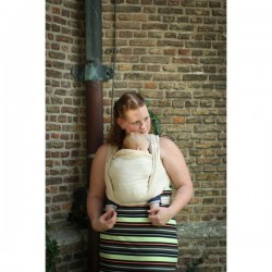 Yaro Newborn Sand - fascia portabebè in cotone