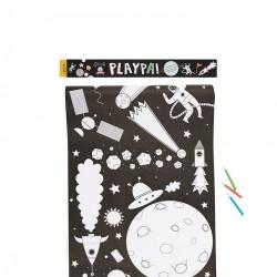 PlayPa - Rotolo da disegno - Space