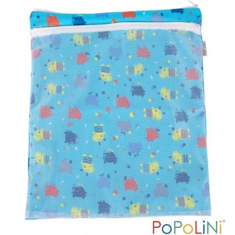 Wet bag doppia tasca Hippo Popolini