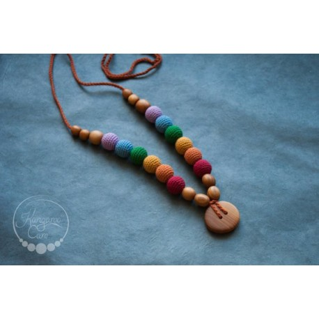 Collana Double Earthy Rainbow