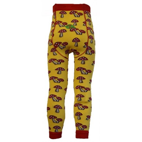 Leggings unisex in cotone BIO - fantasia Fun Guy