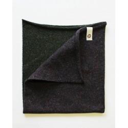 Scaldacollo  Ganzo 3 in 1 in lana rigenerata - Militare/Melanzana