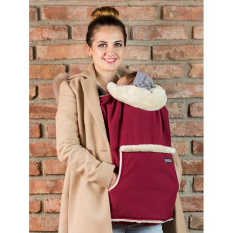Cover in Softshell Isara - Burgundy  - nuovo modello