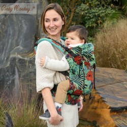 Marsupio ergonomico Regolo Babymonkey Honolulu - spedizione gratuita