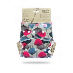 Pannolino fitted one size (4-15kg) Petit Lulu  - diverse fantasie