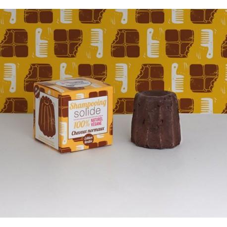 Shampoo solido Cioccolato capelli normali - Lamazuna