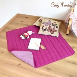 Tappeto gioco imbottito - diversi colori- Babymonkey