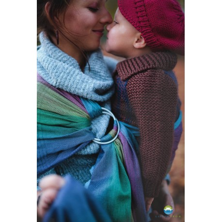 Fascia ad anelli ring sling Little Frog Tourmaline