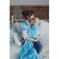 Fascia ad anelli ring sling Little Frog Blue Euclase