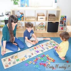 Tappeto gioco BabyABC - Gioco e imparo con le lettere