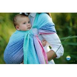 Fascia ad anelli ring sling Little frog Aurora cube