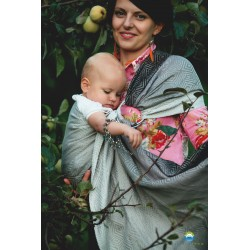Fascia ad anelli ring sling Little frog Linen Monochrome Cube