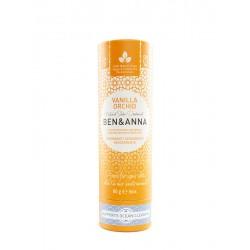 Deodorante solido in tubo di cartone - Vanilla Orchid