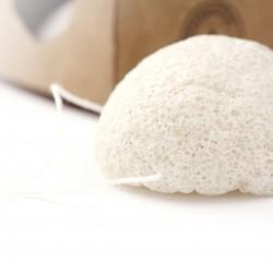 Spugna detergente e struccante Konjac completamente compostabile