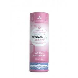 Deodorante Sensitive solido in tubo di cartone - Japanese Cherry Blossom