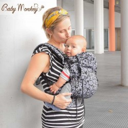 Marsupio ergonomico Regolo Babymonkey Twinkle twinkle - spedizione gratuita