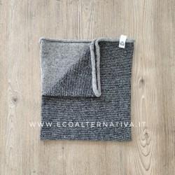 Scaldacollo  Ganzo 3 in 1 in lana rigenerata - Grigio/Antracite