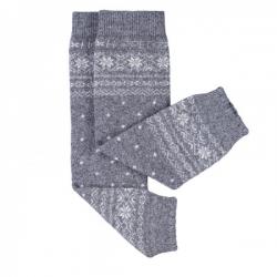 Babylegs lana Made in Italy - grigio Norvegia