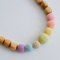 Collana Neutral Simple Rainbow